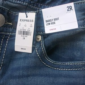 Pants - Brand new Size 2 Express jeans